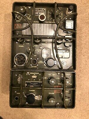 WWII MILITARY ARMY HF Radio BC-1306 Transmitter Receiver