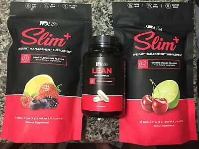 IDLife SLIM+ & Lean Power Couple All Natural Weight Management Supplements