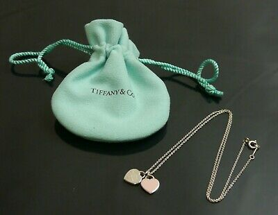 Authentic Tiffany & Co. Necklace Return to Heart Sterling Silver #9377