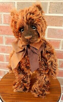Rebus - Charlie Bears 2012 Isabelle Collection 40cm mohair teddy bear