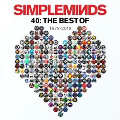 Simple Minds - 40: The Best Of 1979-2019 (Deluxe) (3 Cd) New Cd