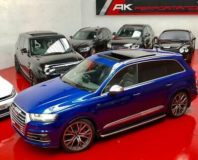 2017 Audi SQ7 4.0 TDI V8 Tiptronic HUD PANORAMIC ROOF QUILTED LEATHER HUGH SPEC