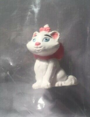Disney's Marie The Cat From The Aristocats Miniature Figure -Brand New