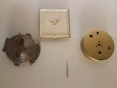 Assortment of vintage Europa Clock and aneroid Barometer parts Job Lot