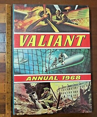 Vintage 1968 Valiant Commando War Picture Comic Story Book Annual Hb Uk Exc!!!