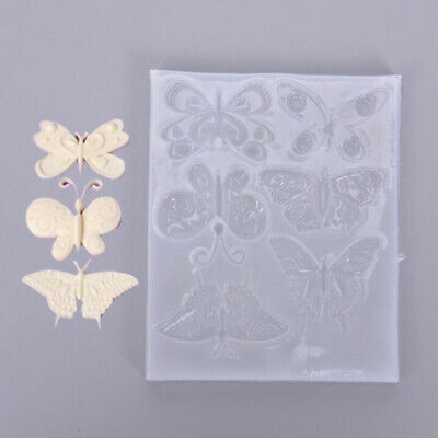 Resin Silicone Mold Butterfly Resin Charms Molds Making Mould Craft Jewelry   YT