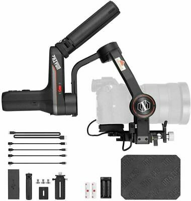 Zhiyun WEEBILL S 3-Axis Gimbal Stabilizer for Cameras+ Handle Grip+Quick Setup