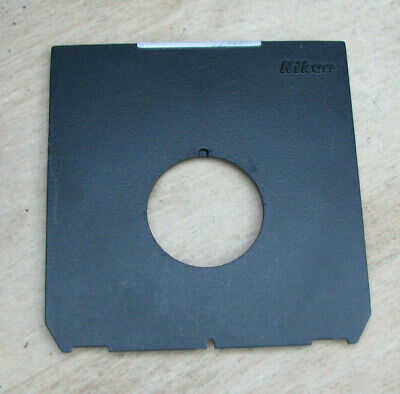 Nikon made Wista Linhof fit generic Lens board copal 0  offset hole