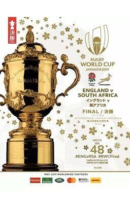 Rugby World Cup Final Official Souvenir Programme Japan 2019 Brand New