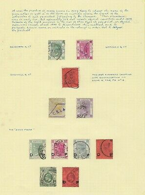 Hong Kong Queen Victoria to King Edward VII cancels and fiscals accumulation