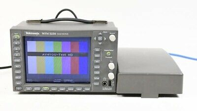 Tektronix WFM5250 HD/SDI/HDMI Multiformat Compact Waveform Monitor - WFM 5250