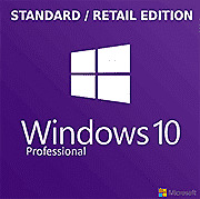 Microsoft Windows 10 Professional STANDARD Edition Retail Key