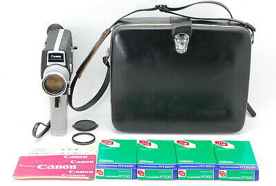 【MINT】Canon Single 8 518 Movie Film Camera 9.5-47.5mm f1.8 & Case from Japan 031