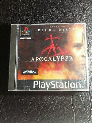 Apocalypse (Sony Playstation 1) Ps1 Game