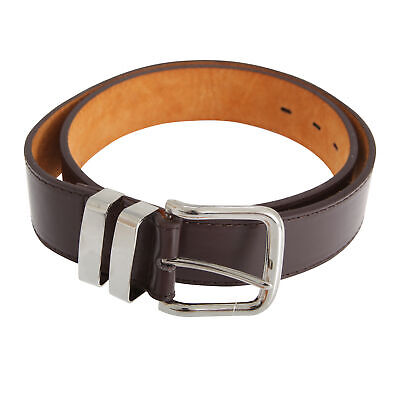 Forests Belts Mens 1.5 Inch Bonded Leather Trouser Belt With Double (BL162)