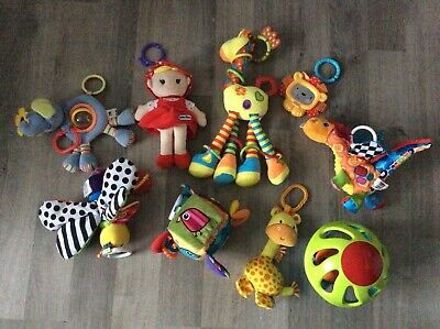 Bundle Lamaze Sensory Toys - Plus Others Little Tykes, Fisher Price,Mothercare