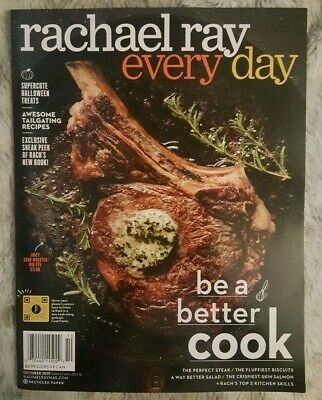Rachael Ray Every Day Magazine October 2019 be a better cook NEW