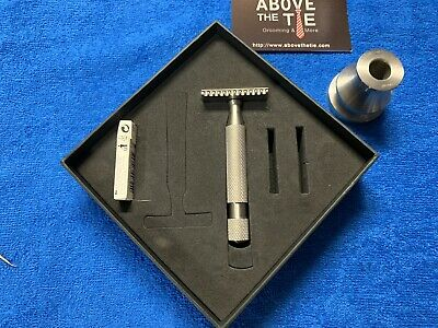 Above The Tie M2 Open Comb DE Safety Razors w/ Kronos Handle and Stand