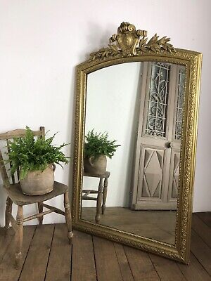 Stunning Large 19th Century Antique French Ornate Mirror