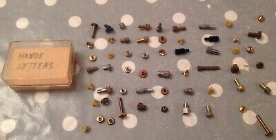 Antique Clock Alarm Time Hand Setters Keys 57 Ex Clockmakers Parts Collection