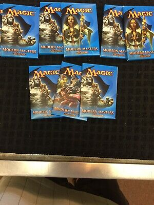 Magic Mtg Modern Masters 2015 Factory sealed Booster Pack X 9
