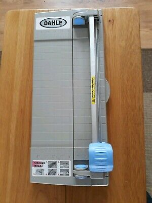 DAHLE ROTARY PAPER TRIMMER 48cm X 20cm WITH 4 BLADES