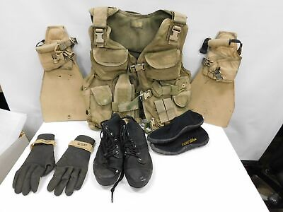 London Bridger Trading Tactical Flotation Vest # 1620 & Fins / Booties / Gloves