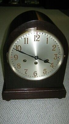 Antique Junghans German Westminster Mantle Clock