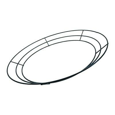 """10""""Wire Wreath Ring Wire Wreath Frame for Christmas Party Wedding Decoration"""