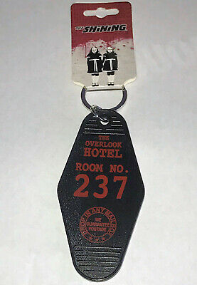 The Shining The Overlook Room # 237 Hotel Key Chain Keychain Ring Plastic Metal