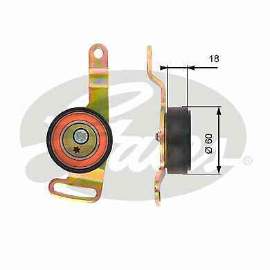 Roadster 452 450 Belt Tensioner Pulley Q0015956V001 NEW Genuine Smart Fortwo