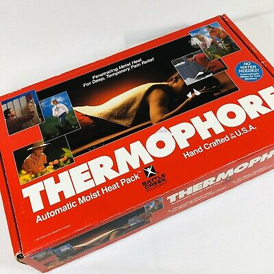 Thermophore Automatic Moist Heating Pack Pad Standard Size 14 X 27 Model 055