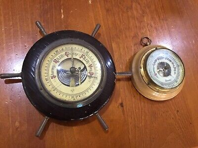 2 X Antique Barometers. Collector