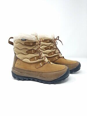 TIMBERLAND WOODHAVEN MID Brown Womens 6 Snow Boots 200 Gram