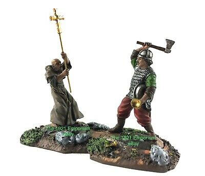 1:32 Metal Conte Collectibles Vikings Valhalla Awaits Power of Christ 2 Figures