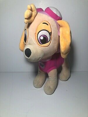 Paw Patrol Plush Skye Girls Dog Large Cuddle Pink Soft Stuffed Sky Toy 16""