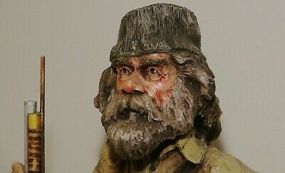 Earl Rumsey Durand   wood carver mountain man ,  museum piece