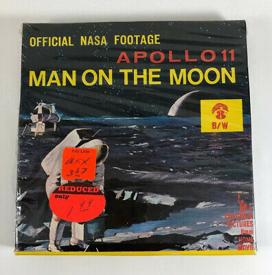 Apollo 11 Man On The Moon Official NASA Footage Columbia Pictures 8MM Super 8 BW