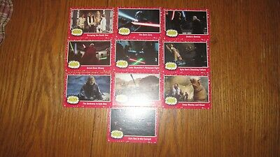 "Star Wars ""Journey To The Rise Of Skywalker"" 2019 (Red Target Parallel ""U Pick"")"