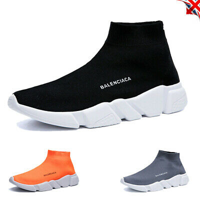 Womens Knit Sock Shoes Runner Sneakers Stretch Summer Ladies Trainers Sports Gym