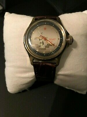 Vostok wrist watch Russian vintage Special WW2 Award wristwatch Working