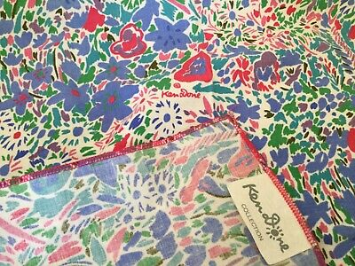 Vintage Ken Done Square Handkerchief - Ken Dome Collection 1980's