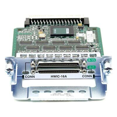 Cisco HWIC-16A 16 Port Asynchronous High Speen WAN Interface Module