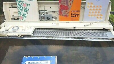 Brother kh970 electronic knitting machine, fully serviced and tested,pristine