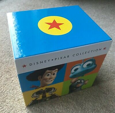 New Unsealed Disney Pixar Dvd Collection - Toy Story Cars Up Nemo Monsters Inc++