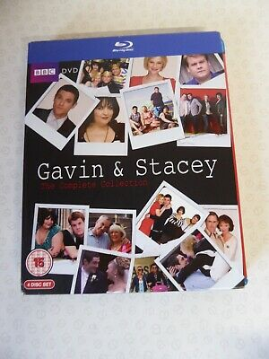 Gavin & Stacey The Complete Collection Blu-ray 4 Disc Set - 3 Series & Special