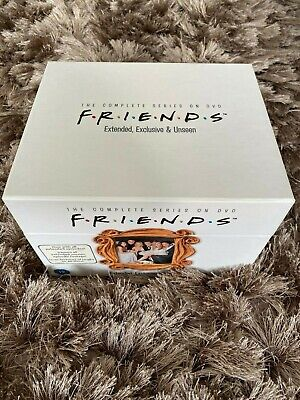 Friends - Series 1-10 - Complete (DVD, 2009, 40-Disc Set) with extended episodes
