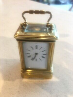 Antique Baby Carriage Clock