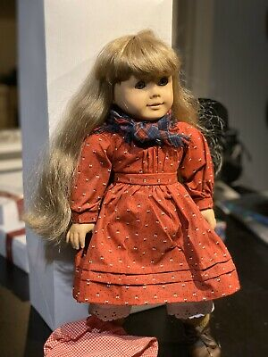 "American Girl 18/"" Doll Kirsten Meet Socks ONLY Retired PC Pleasant Company"