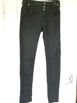Great Condition Denim & Co Black High Waist Skinny Jeans Size 8